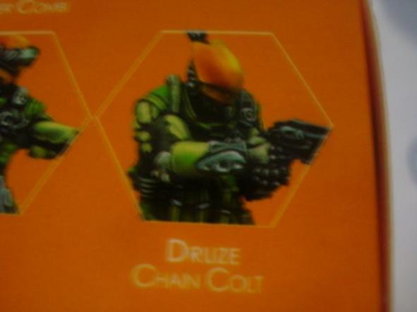 Mercenaries Druze Chain Colt