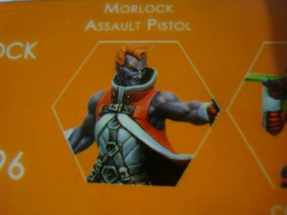 Nomads Morlock Assault Pistol
