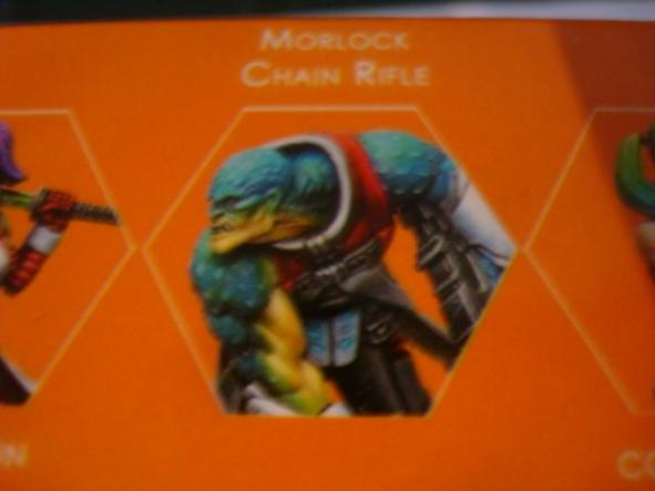 Nomads Morlock Chain Rifle