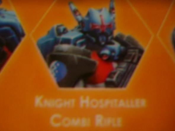 Panoceania Knight Hospitaller Combi Rifle