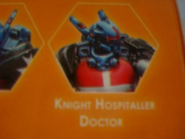Panoceania Knight Hospitaller Doctor