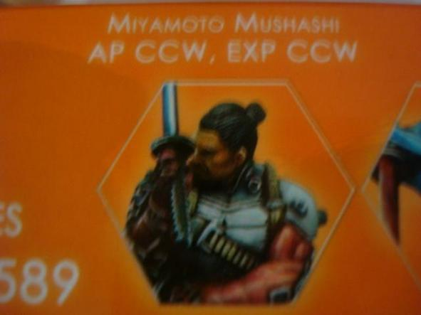 Mercenaries Miyamoto Mushashi AP CCW model A