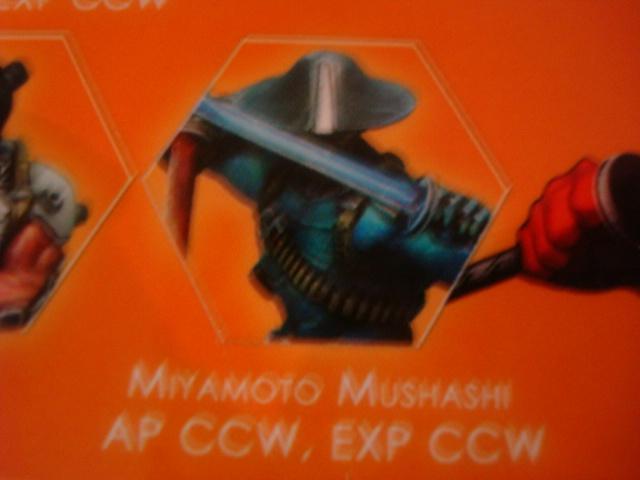 Mercenaries Miyamoto Mushashi AP CCW model B