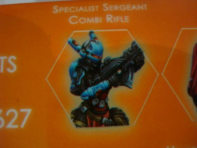 Panoceania Specialist Sergeant Combi Rifle