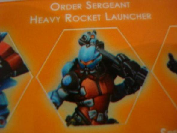 Panoceania Specialist Sergeant Heavy Rocket Launcher