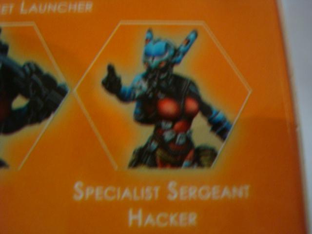 Panoceania Specialist Sergeant Hacker