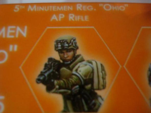Ariadna 5th Minutemen Reg Ohio AP Rifle