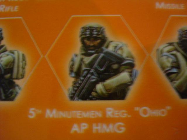 Ariadna 5th Minutemen Reg Ohio AP HMG