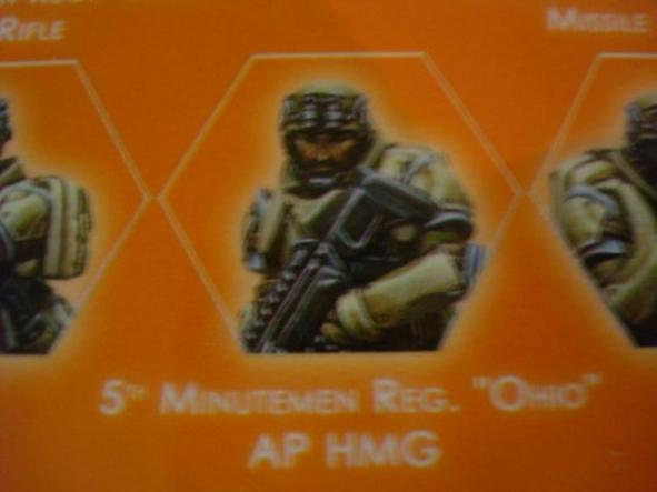 Ariadna 5th Minutemen Reg Ohio AP HMG [0]