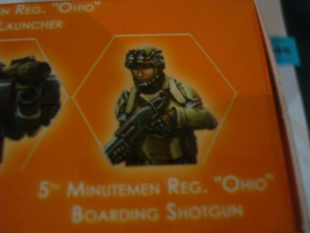 Ariadna 5th Minutemen Reg Ohio Boarding Shotgun