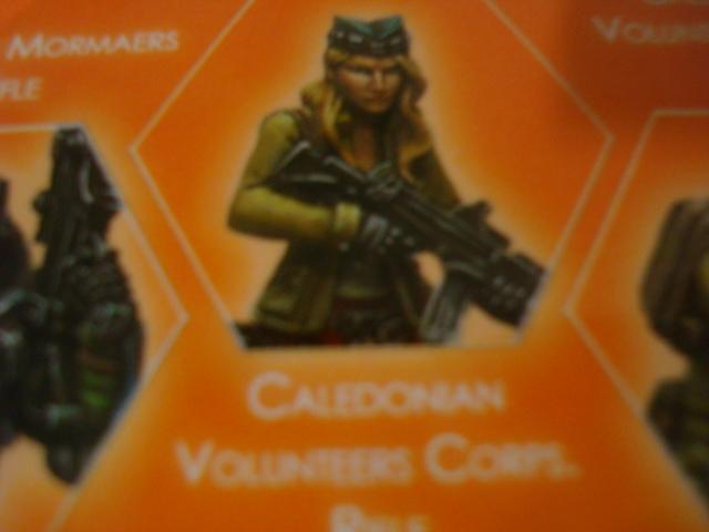 Ariadna Caledonian Volunteers Corps Rifle
