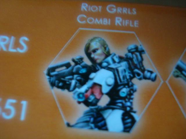 Nomads Riot Grrls Combi Rifle