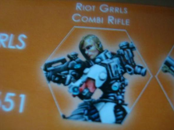 Nomads Riot Grrls Combi Rifle