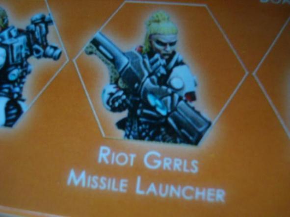 Nomads Riot Grrls Missile Launcher
