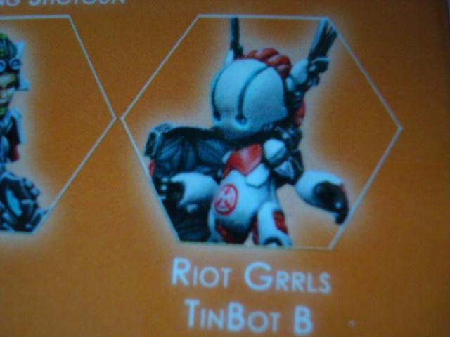 Nomads Riot Grrls TinBot B