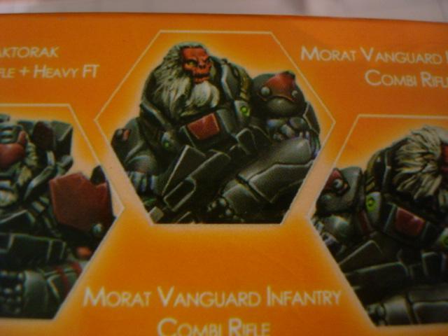 Combined Army Morat Vanguard Infantry Combi Rifle B