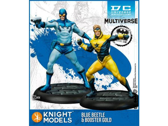 BLUE BEETLE & BOOSTER GOLD [0]