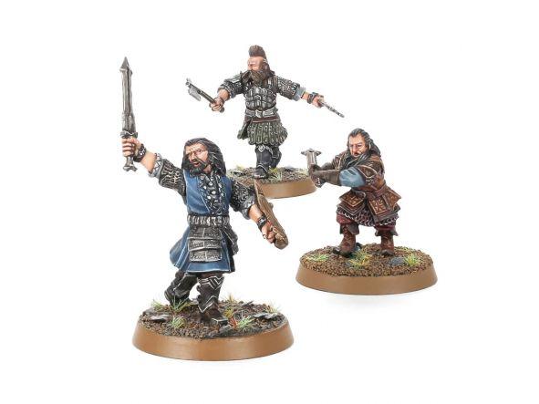 Young Thorin, Balin y Dwalin