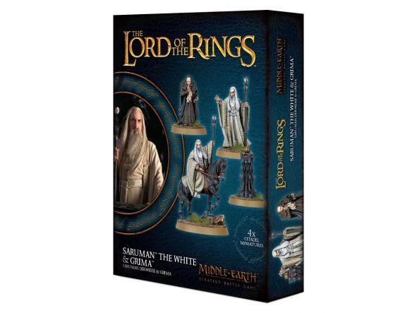 Saruman the White & Gríma