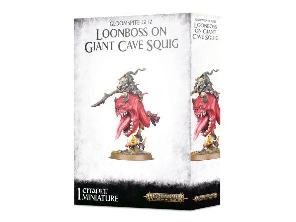 Loonboss en Giant Cave Squig