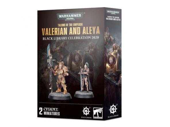Talons of the Emperor Valerian y Aleya