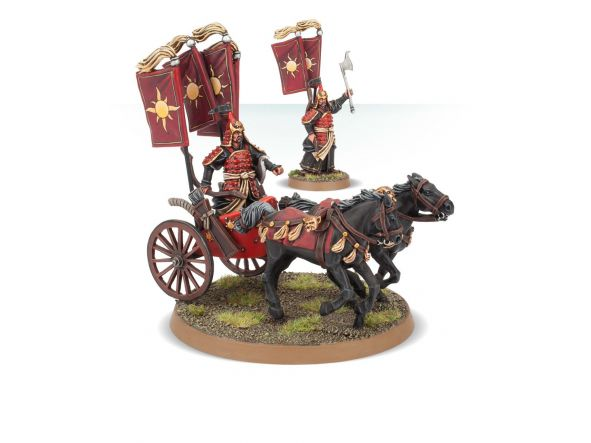 Khandish King in Chariot