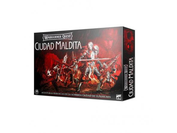 Warhammer Quest Ciudad Maldita Español