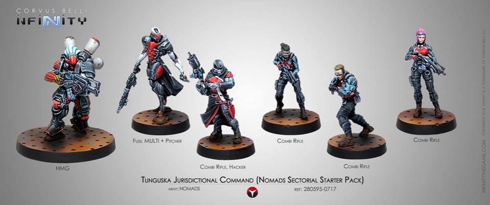 Tunguska Jurisdictional Command Nomads Starter Pack
