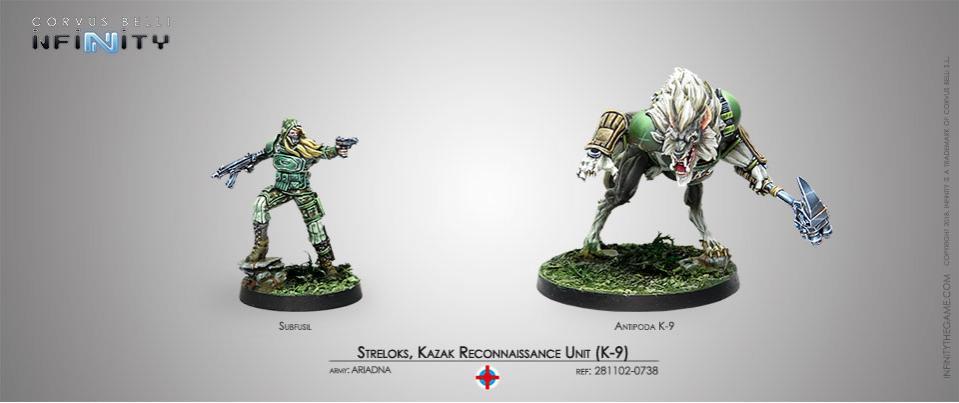 Streloks, Kazak Reconnaissance Unit K-9