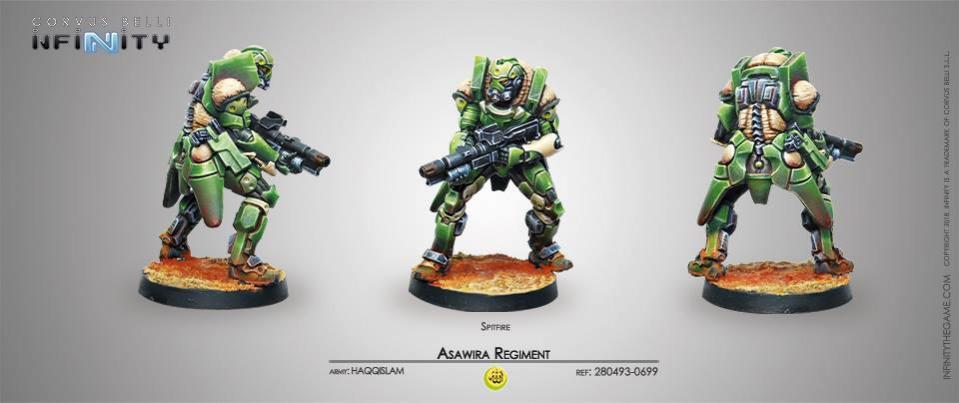 Haqqislam Asawira Regiment Spitfire