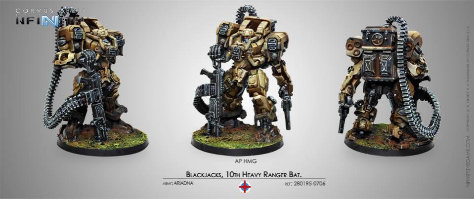 Blackjacks 10th Heavy Ranger Bat AP HMG