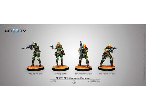 Brawlers Mercenary Enforcers