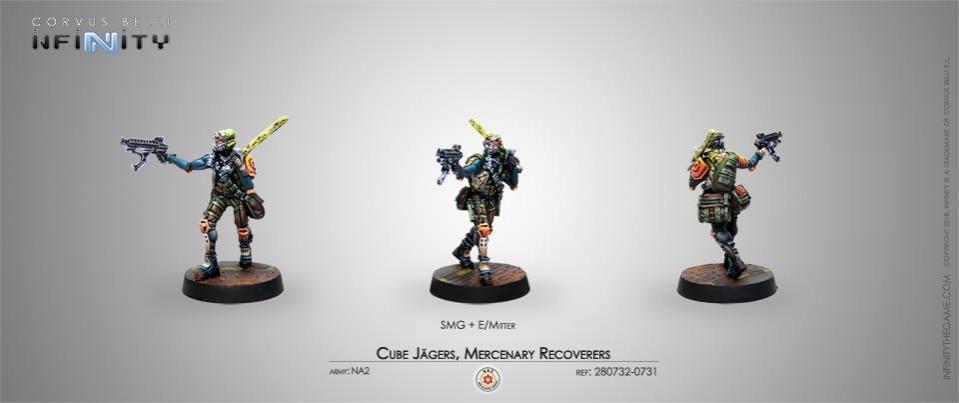 Cube Jagers Mercenary Recoverers