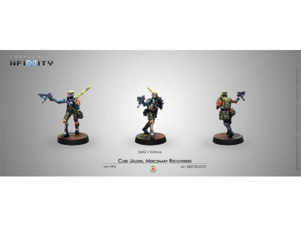 Cube Jagers Mercenary Recoverers