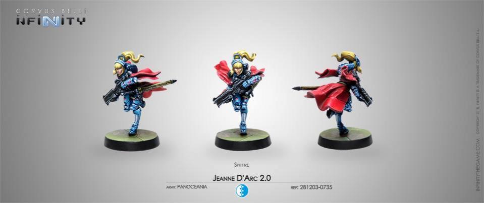 Jeanne D´Arc 2.0 Spitfire