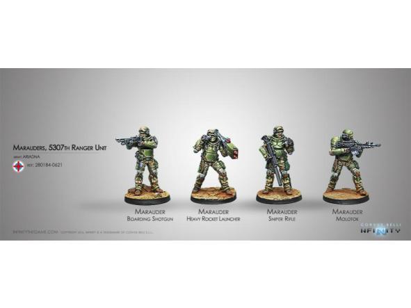Marauders 5307th Ranger Unit
