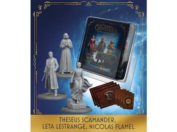 Theseus Scamander& Leta Lestranger & Nicolas Flamel