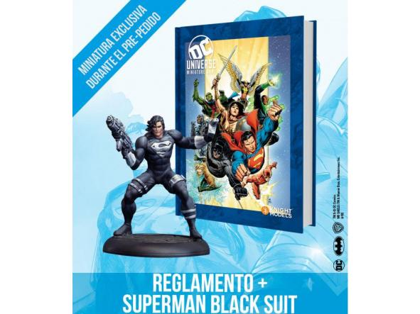 DC UNIVERSE RULEBOOK HEROES COVER ENGLISH EXCLUSIVE MINIATURE