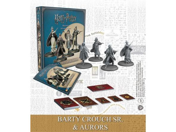 Pack Barty Crouch Sr and Aurors