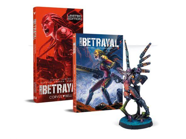 Infinity: Betrayal Novela Gráfica Edición Limitada