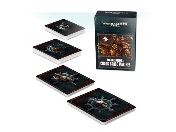 Data Cards Chaos Space Marines