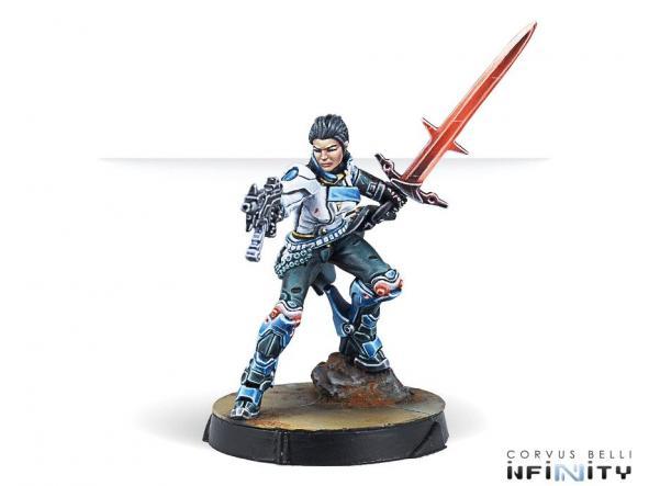 Shona Carano Swordmaster Submachinegun