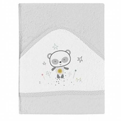 Maxicapa de baño Panda