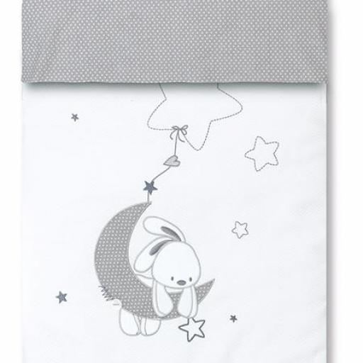 Saco nórdico + funda almohada Luna
