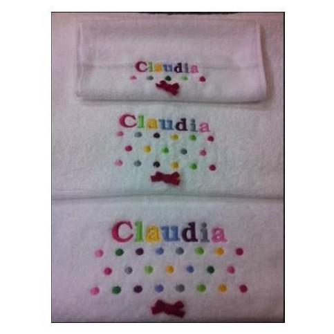 Juego toallas bordadas [1]