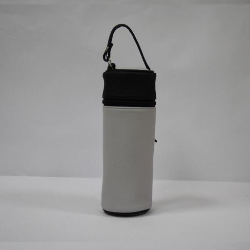 Portabiberón polipiel bicolor (varios colores) [3]