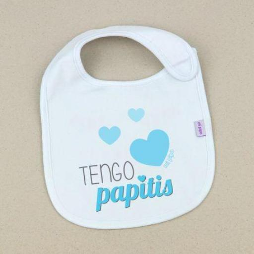 Babero Tengo papitis (colores)