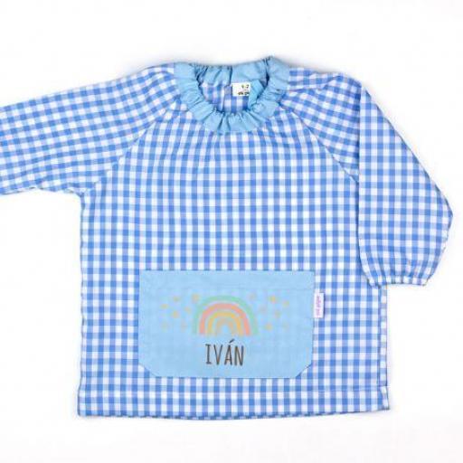 Babi bolsillo Arcoiris Soft Azul