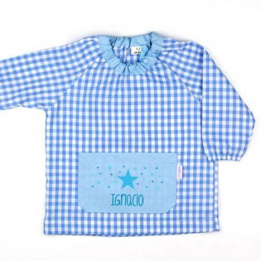 Babi bolsillo Estrella Colores personalizado