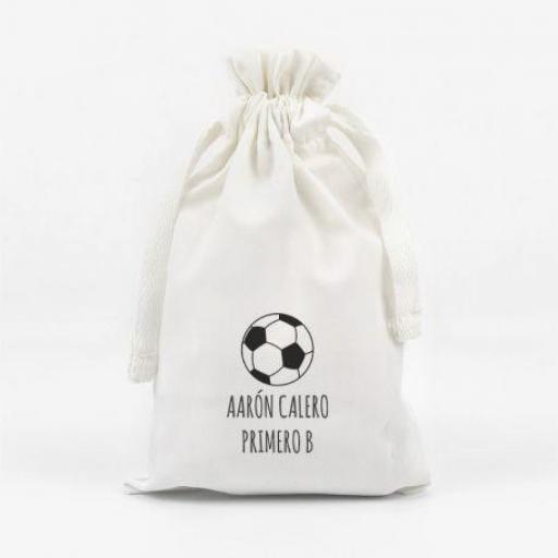 Bolsita para mascarilla Balón Fútbol